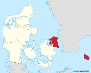 Vejkort over region Nordjylland – Bykort med gader – Kort over Danmark
